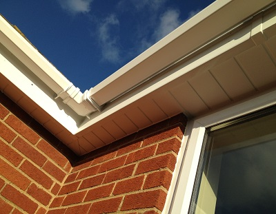 Jones UPVC can provide replacement soffits and guttering