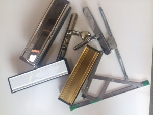 Door and window furniture from Jones UPVC