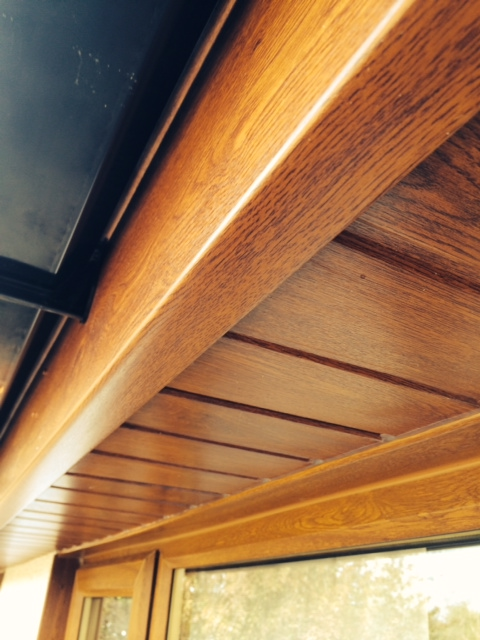 Light oak soffits and fascias